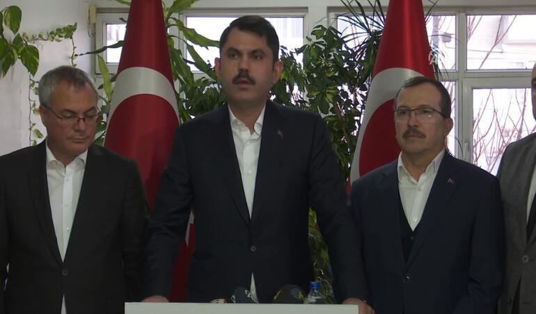 Çevre ve Şehircilik Bakanı Murat Kurum'dan Manisa'daki depreme ilişkin açıklama