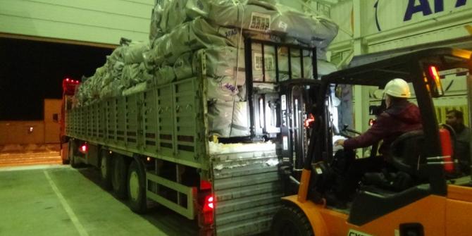 Muş AFAD'tan Elazığ'a lojistik destek