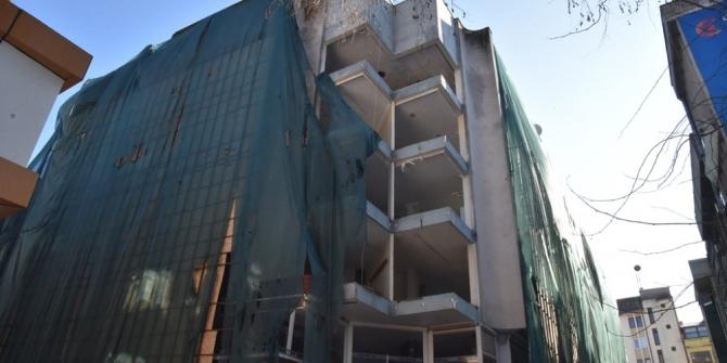 Kızılay İş Merkezi gece yıkılacak
