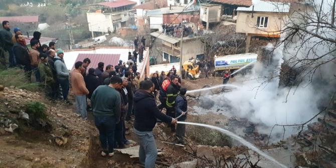 Aydın'da yangın felaketi