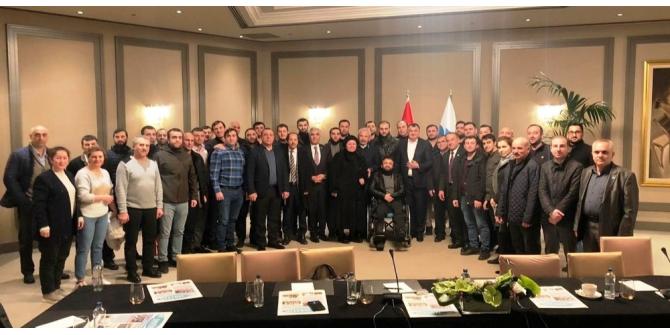 Başkan Kassanov, Ahıskalı doktorlarla bir araya geldi