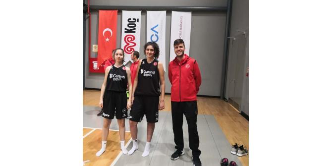 Isparta'dan 1 antrenör ve 2 sporcu Milli Takım Kampına katıldı