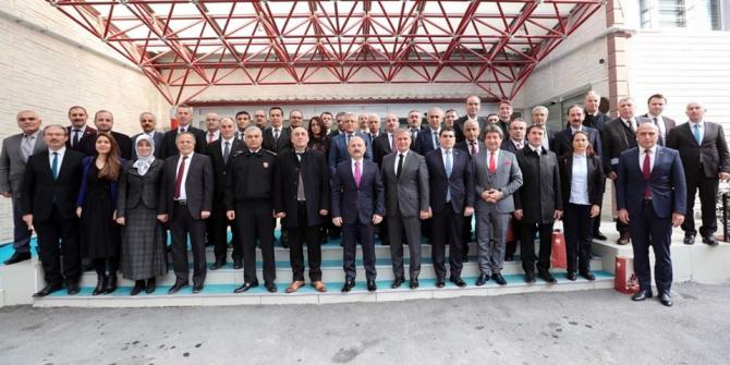 Amasya'da İl İdare Şube Başkanları Toplantısı