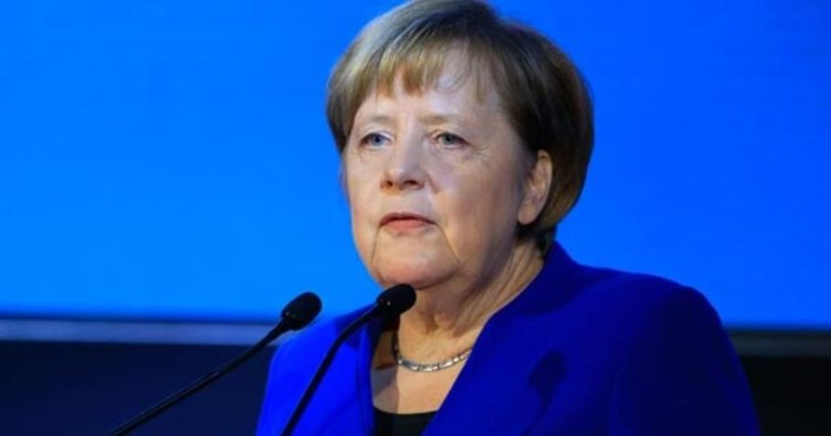 Merkel'den Cumhurbaşkanı Erdoğan'a taziye mesajı