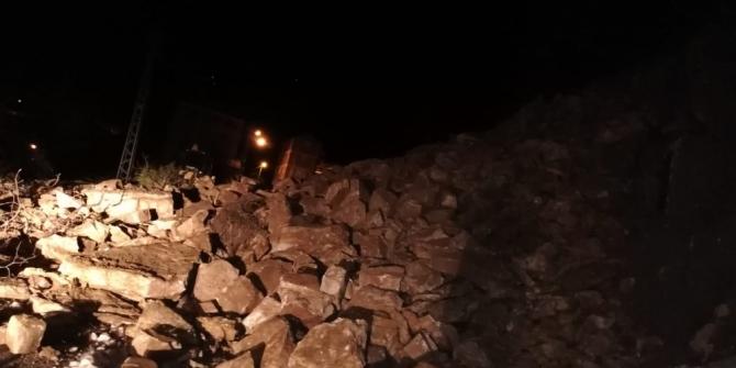 Türkeli'de ulaşıma kapanan yol yeniden açıldı