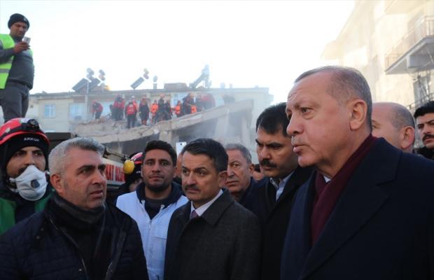 Cumhurbaşkanlığından Elazığ'daki depreme ilişkin bilgilendirme