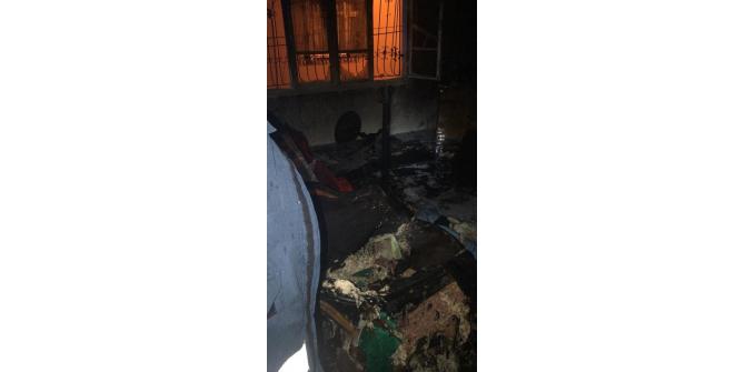 Tarsus'ta yangın: 1 ölü