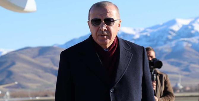 Cumhurbaşkanı Erdoğan'dan Elazığ depremine ilişkin flaş açıklama