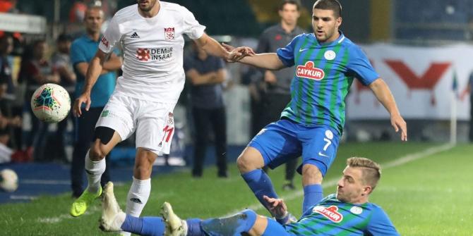 Sivasspor ile Çaykur Rizespor 16. randevuda