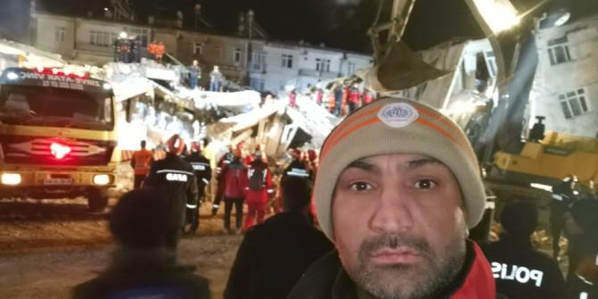 İnegöl İHH arama kurtarma ekipleri deprem bölgesinde