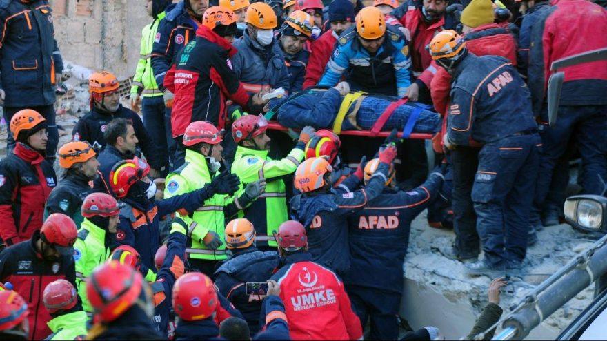 Deprem'de can kaybı 36'ya yükseldi