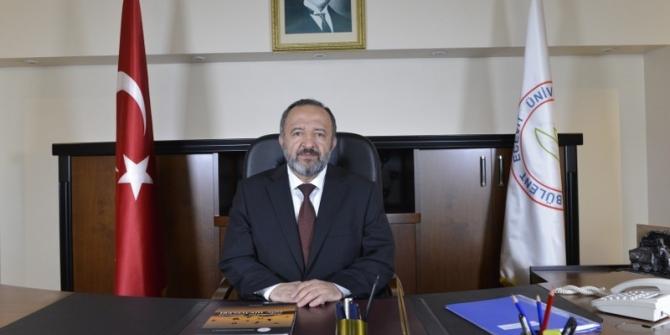 """Rektör Çufalı, """"Ülkemize, milletimize geçmiş olsun"""""""