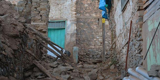 Valilik ağır hasar tespit edilen ev sayısını açıkladı