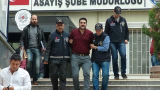 Ahmet Hakan'a saldıran şahıslardan gazetecilere Vatan Hainimiyiz Çıkışı