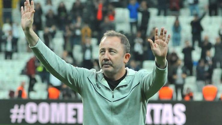 Sergen Yalçın, Beşiktaş Yönetimi ile Vodafone Park'ta görüşecek