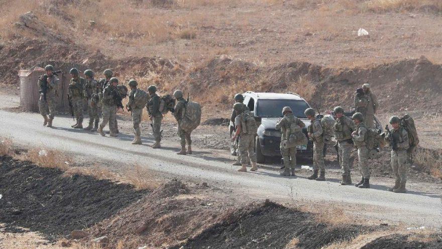 Tel Abyad'da, 5 PKK/YPG'li terörist operasyon ile yakalandı