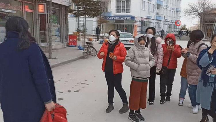 Hastaneye kaldırıldılar! Aksaray'da koronavirüs paniği