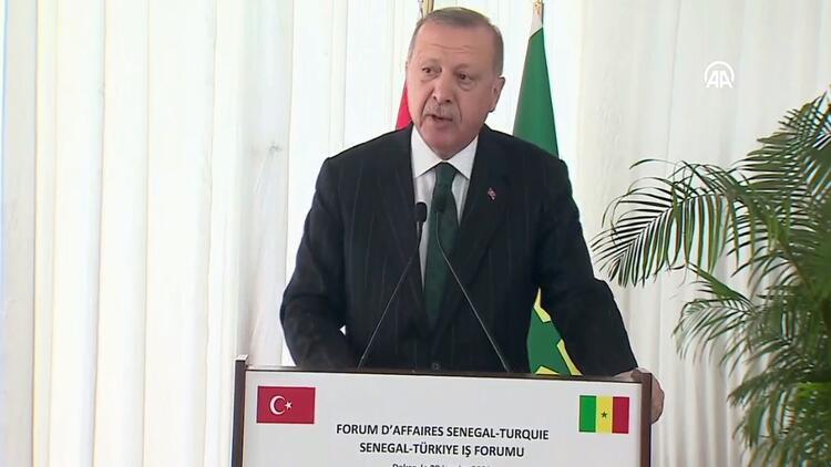 Erdoğan: Dünyadaki en önemli 10 alt yapı projesinden 6'sı Türkiye'de bulunuyor