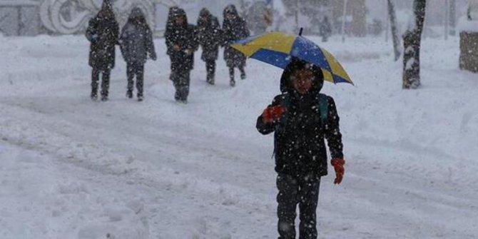 Erzincan'daokullar tatil mi 14 Şubat 2020? Erzincan Cuma kar tatili var mı?