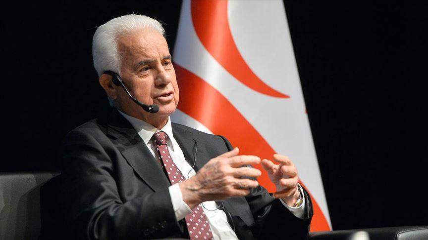 Kuzey Kıbrıs Türk Cumhuriyeti'nin 3. Cumhurbaşkanı Eroğlu, Akıncı'ya tepki gösterdi