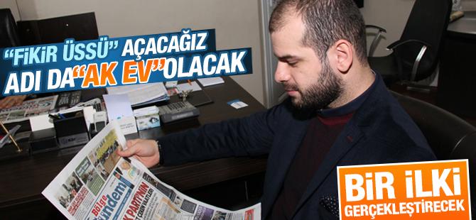 AK Parti Pendik Gençlik Kolları Başkanı Abdullah Şenaslan Bir İlki Gerçekleştirecek