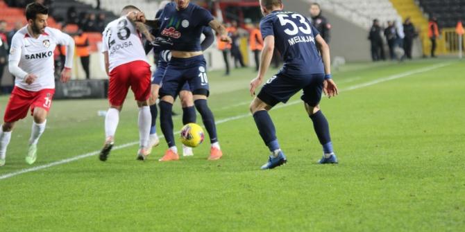 Süper Lig: Gaziantep FK: 2 - Çaykur Rizespor: 0 (Maç sonucu)
