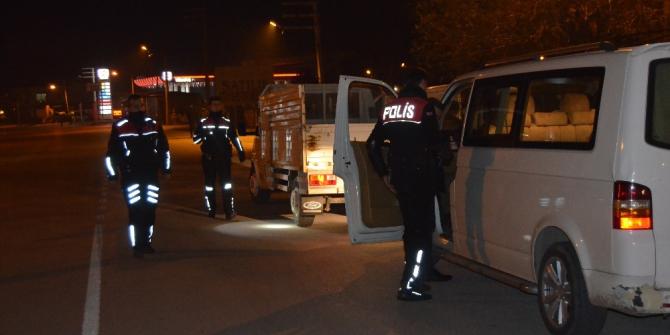 Osmaniye'de polis uygulaması