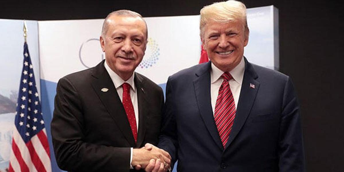 Cumhurbaşkanı Erdoğan ile ABD Başkanı Trump arasında İdlib görüşmesi