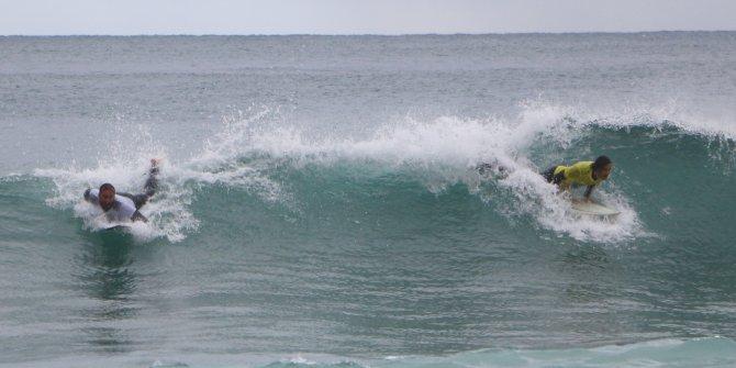 Alanya'da sörf şampiyonası heyecanı