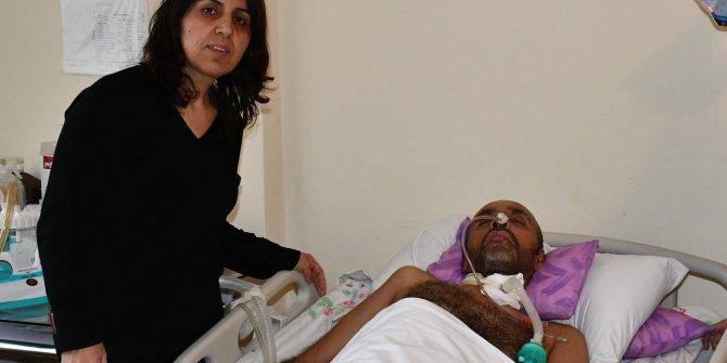 Elektrik akımına kapılan işçi, yatağa bağımlı kaldı