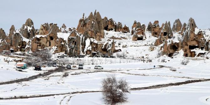 Kapadokya Bölgesini 150 ülkeden turist ziyaret ediyor