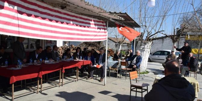 Yenipazar protokolü Hükümet Mahallesi'ni ziyaret etti