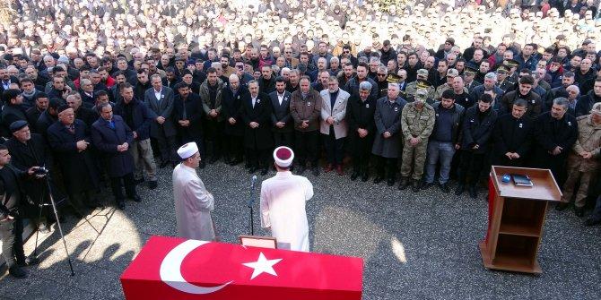 Albay Ejder Kanter memleketi Erciş'te toprağa verildi
