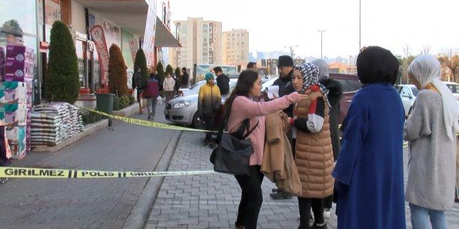 Avcılar'da züccaciye dükkanı önünde silahlı saldırı