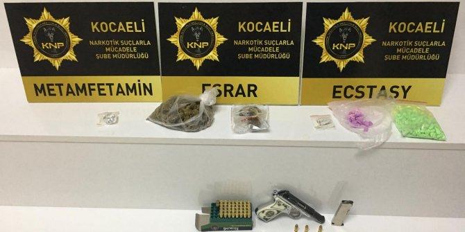 Kocaeli'de uyuşturucu operasyonu: 7 gözaltı
