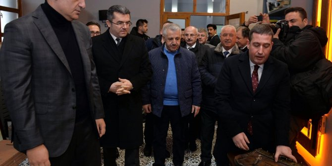 Bakan Ersoy, Doğu Ekspresi'yle Kars'a gitti