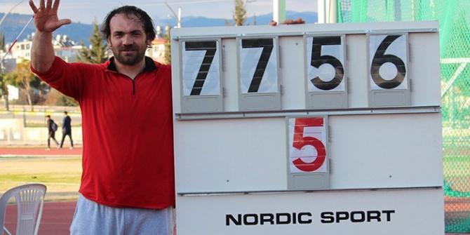 Eşref Apak beşinci kez olimpiyatlarda