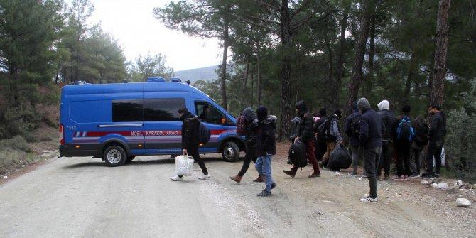 Seydikemer'de 32 kaçak göçmen yakalandı