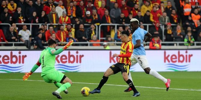 Süper Lig: Göztepe: 1 - Gaziantep FK: 1
