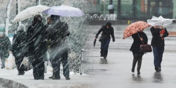 Meteoroloji'den son dakika uyarısı! O bölgelerde sağanak, kar, çığ rüzgar bekleniyor