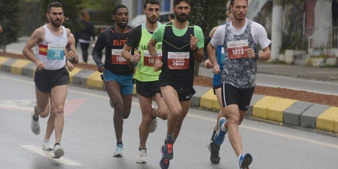 Uluslararası Trabzon Yarı Maratonu koşuldu