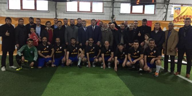 """""""Goller Elazığ için ve Her yer sarı-kırmızı futbol turnuvası"""" başladı."""