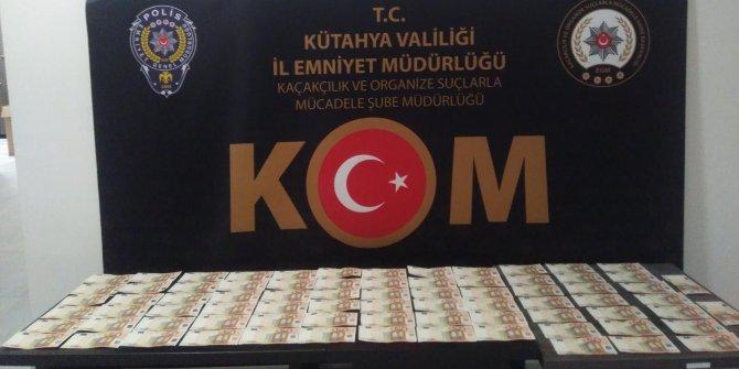 Kütahya'da 77 adet sahte 50 euro ele geçirildi