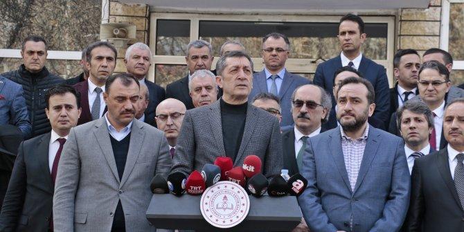 Bakan Selçuk: Yarın Elazığ'da okul zili çalacak