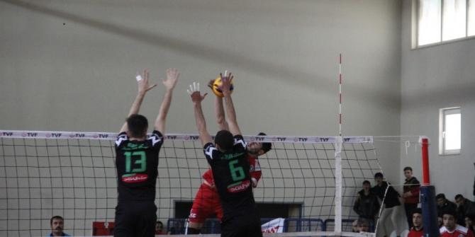 TVF Erkekler 1. Lig: Solhanspor: 3 - Akkuş Bld: 2
