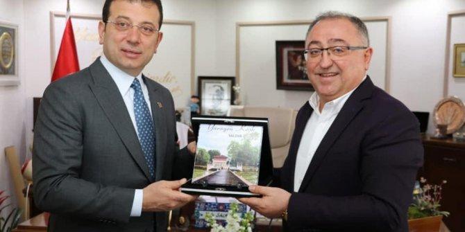 İmamoğlu'ndan, Yalova Belediye Başkanı Salman'a ziyaret - Yeniden