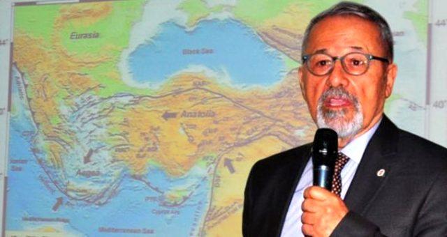 Prof. Dr. Naci Görür'den deprem uyarısı