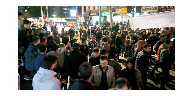 Diyarbakır'da, Galatasaray'ın galibiyet gerginliği