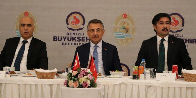 Cumhurbaşkanı Yardımcısı Oktay, Denizli'de (2)