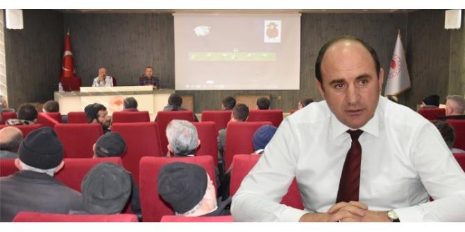 """Bayburt'ta """"Sürü Yönetimi Elemanı Benim"""" eğitimi devam ediyor"""